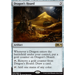 Magic löskort: Core Set 2019: Dragon's Hoard