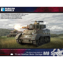 Rubicon: US M8 Scott / M5A1 Stuart