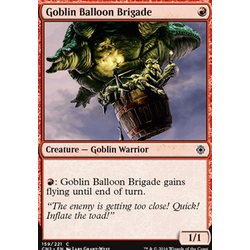 Magic löskort: Conspiracy: Take the Crown: Goblin Balloon Brigade