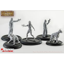 Mutant Chronicles RPG: Corporate Agents Model Set