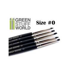 Green Stuff Silicone Shapers SIZE 0 - BLACK FIRM