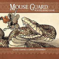 Mouse Guard RPG Hardcover (2:nd Ed)