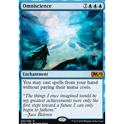 Magic löskort: Core Set 2019: Omniscience