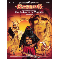 D&D Gazetteer: GAZ2, The Emirates of Ylaruam (1987)