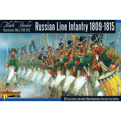 Napoleonic: Early Russian Line Infantry (1809-15)