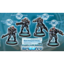 Combined Army Morat Vanguard Infantry (Box of 4)
