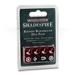 Shadespire Dice Pack: Khorne Bloodbound