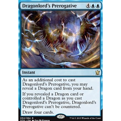 Magic löskort: Dragons of Tarkir: Dragonlord's Prerogative