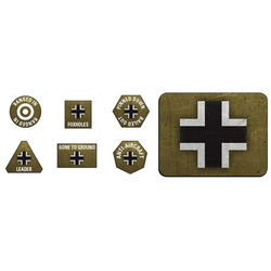 German Late War Tokens & Objectives