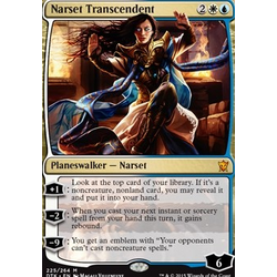 Magic löskort: Dragons of Tarkir: Narset Transcendent