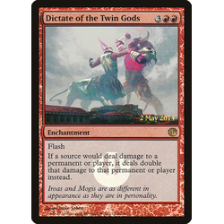 Magic löskort: Journey into Nyx: Dictate of the Twin Gods (Promo Foil)