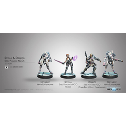 ALEPH - Drakios and Scylla, Steel Phalanx's NCO (Box Set of 4)