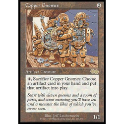 Magic löskort: Urza's Saga: Copper Gnomes