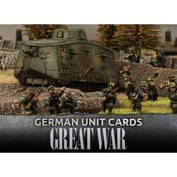 Great War: German Unit Cards