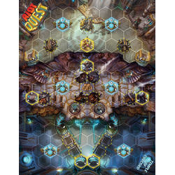 Riot Quest: Temple of Concord - fabric playmat (neoprene)