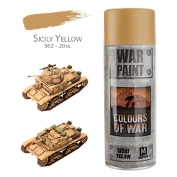 Desert Rats Spray: Sicily Yellow (400 ml)