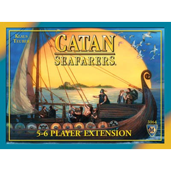 Settlers of Catan (4th ed): Seafarers 5-6 Player extension (eng. regler)