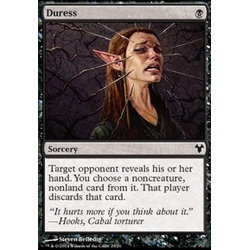Magic löskort: Modern Event Deck: Duress