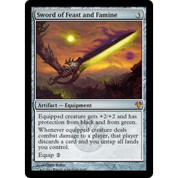 Magic löskort: Modern Event Deck: Sword of Feast and Famine