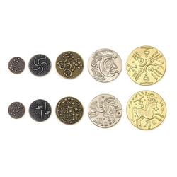 Metal Coins Celtic (50 st)