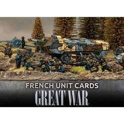 Great War: French Unit Cards