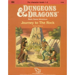 D&D: B8, Journey to The Rock (1984)