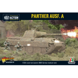 German Wehrmacht - Panther Ausf A (plastic)