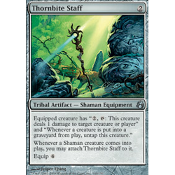 Magic Löskort: Morningtide: Thornbite Staff
