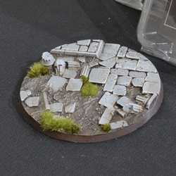 Battle Ready Bases - Temple 100mm Round (1)