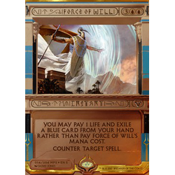 Magic löskort: Amonkhet Invocations: Force of Will