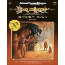 ADD 2nd ed: Dragon Lance DLE1 In Search of Dragons (Begagnad) )