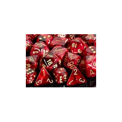 Vortex ™ Burgundy/gold (36-dice set)