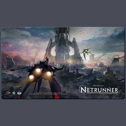 FFG Netrunner Play Mat The Root