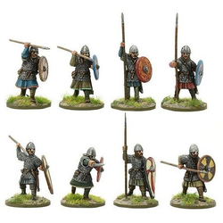 Saxon Huscarls with Spears B