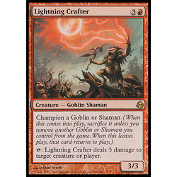 Magic löskort: Morningtide: Lightning Crafter