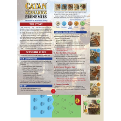 Settlers of Catan Scenarios: Frenemies of Catan (Eng. regler)