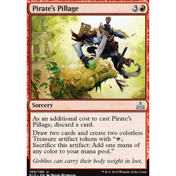 Magic löskort: Rivals of Ixalan: Pirate's Pillage