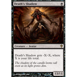 Magic löskort: Worldwake: Death's Shadow