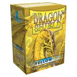 Dragon Shield Sleeves - Standard Yellow (100 ct. in box)