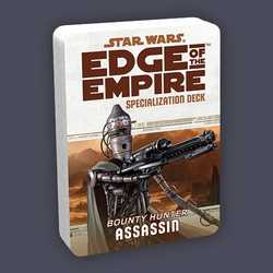 Star Wars: Edge of the Empire: Specialization Deck - Bounty Hunter Assassin