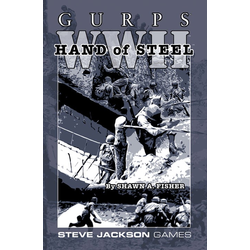 GURPS: WWII, Hand of Steel (Begagnad) )