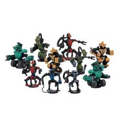 DreadBall: Ro-Tek Brutes - Mechanite Team