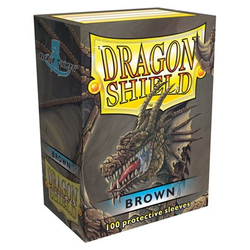 Dragon Shield Sleeves - Standard Brown (100 ct. in box)