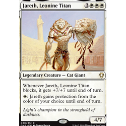 Magic löskort: Commander Anthology 2018: Jareth, Leonine Titan