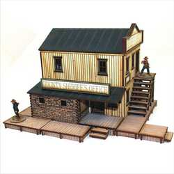 28mm Dead Mans Hand Feature Building: Sheriffs Office