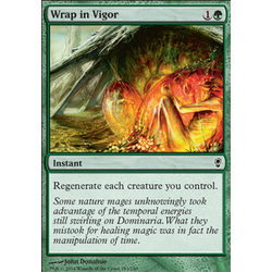 Magic löskort: Conspiracy: Wrap in Vigor