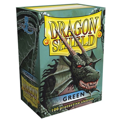 Dragon Shield Sleeves - Standard Green (100 ct. in box)