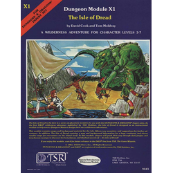 D&D: X1, The Isle of Dread (1980)