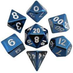 Metallic Dice: Blue (Solid Metall)