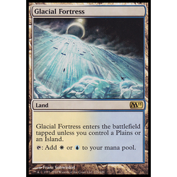 Magic löskort: Core Set 2011 (M11): Glacial Fortress